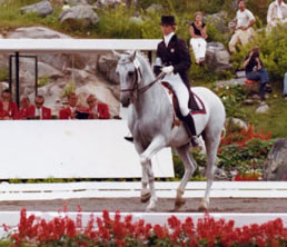 Dorothy Morkis and Monaco at the Olympics